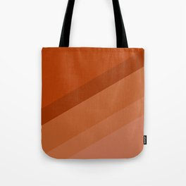 Colorblock in Retro Orange Tote Bag