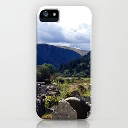 Glendalough, Ireland iPhone Case