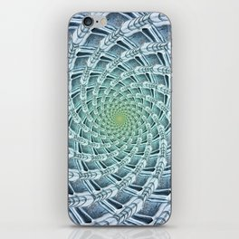 Phyllotactic Ice iPhone Skin