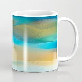 Dunes Collection - Blue  Coffee Mug