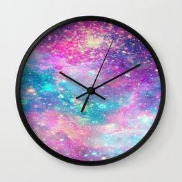 Galaxy Space Science Pattern Wall Clock