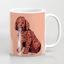 Labradoodle Illustration Coffee Mug