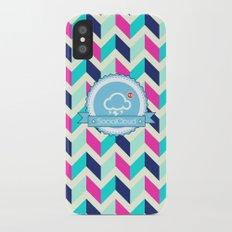 SocialCloud Pattern Slim Case iPhone X