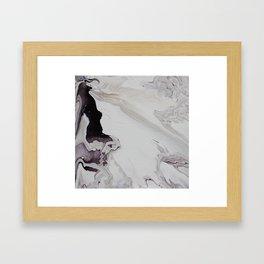 Marble Square Framed Art Print