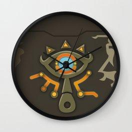 Zelda Sheikah Slate Wall Clock