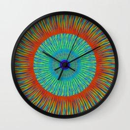 Cosmic Kaleidoscope Wall Clock