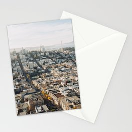 Fall in San Francisco Stationery Cards
