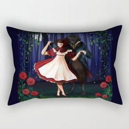 A Dangerous Dance, Red Hood And The Wolf Rectangular Pillow