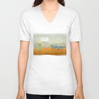 le petit prince V-neck T-shirts featuring  Le Petit Prince  by Ia Re