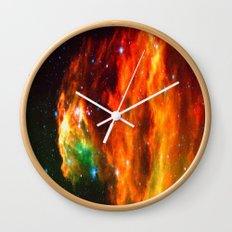 Spaceplosion Wall Clock