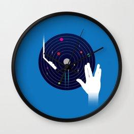Star Tracks Wall Clock