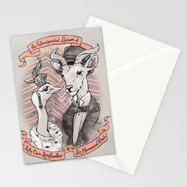 The Unexpected Liaison Stationery Cards