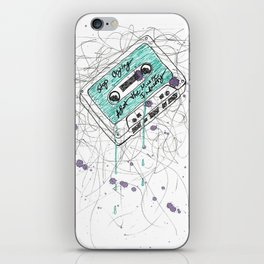 Stop Crying About The Music Industry iPhone Skin
