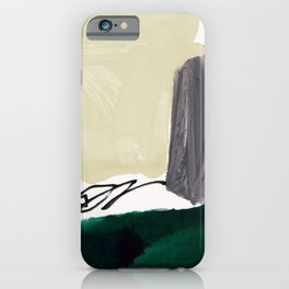 minimalist painting 03 iPhone Case