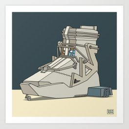sneaker vehicle Art Print