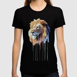 The Lion - watercolor T-shirt