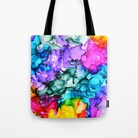 indie Tote Bags featuring Indie Chic by Claire Day