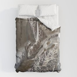 Silver Crystal First Duvet Cover