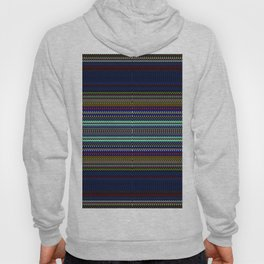 Blue & Gold Rag Weave by Chris Sparks Hoody