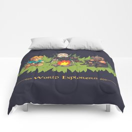 World Explorers Comforters