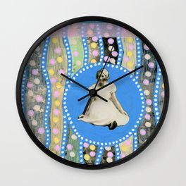 Alice In Whateverland Wall Clock