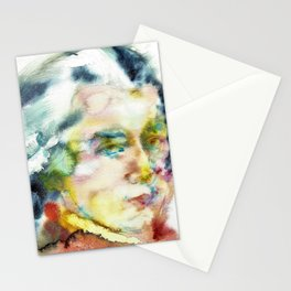 WOLFGANG AMADEUS MOZART - watercolor portrait Stationery Cards
