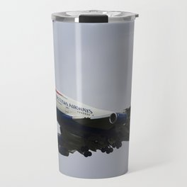 British Airways Boeing 747 Travel Mug