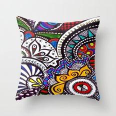 Mosaic Style Throw Pillow