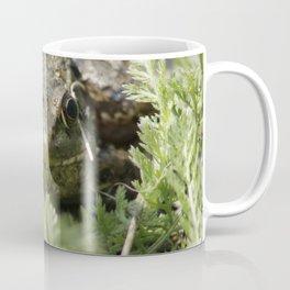 Leopard frog in moss Coffee Mug