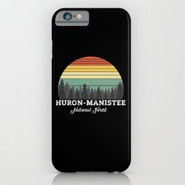 HURON-MANISTEE MICHIGAN iPhone Case