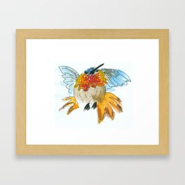 Hummingbird Tulio Framed Art Print