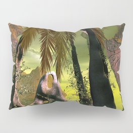Seascape, view over the sea  Pillow Sham