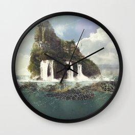 Tortuga Island Wall Clock