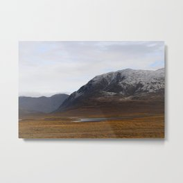 Alaska Range in Autumn Metal Print
