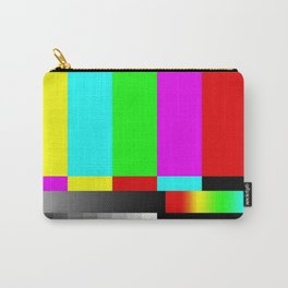 SMPTE Television TV Color Bars Carry-All Pouch