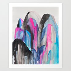 cluster Art Print