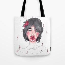 Elegant Words Tote Bag
