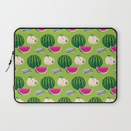 Traditional Japanese summer pattern_H Laptop Sleeve