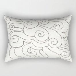 Swirly Rectangular Pillow