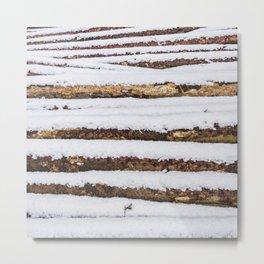 Firewood Metal Print