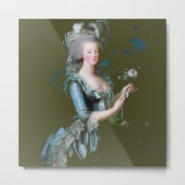 marie antoinette royal green forest tribute  Metal Print