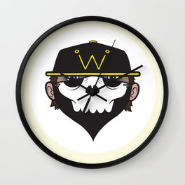 A Wicked Gentleman Wall Clock