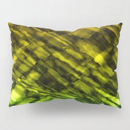 Rock Pool in Green and Gold Pillow Sham