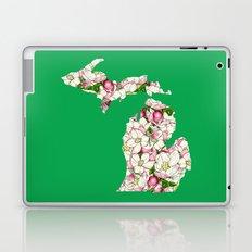 Michigan in Flowers Laptop & iPad Skin