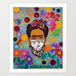 Viva La Frida! Art Print