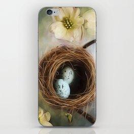Nesting among the Dogwoods iPhone Skin