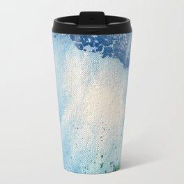 Environmental Blue and Green Painting # 7 Travel Mug