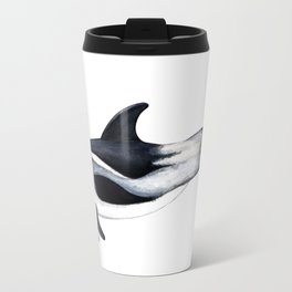 White-beaked Dolphin Travel Mug