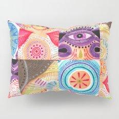 vibrant playful rhythm Pillow Sham