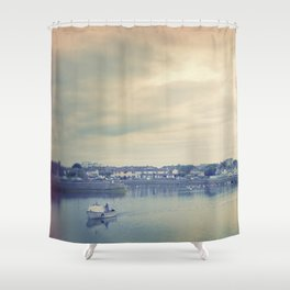 Afternoon in Galway Bay Shower Curtain